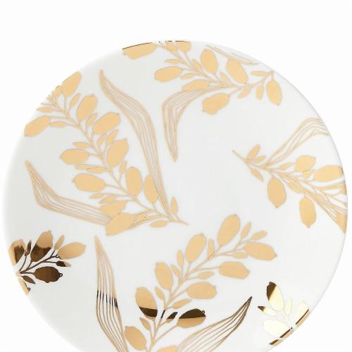Lenox Goldenrod Dinnerware Butter Dessert Plate, 7.3 dia. Perspective: front