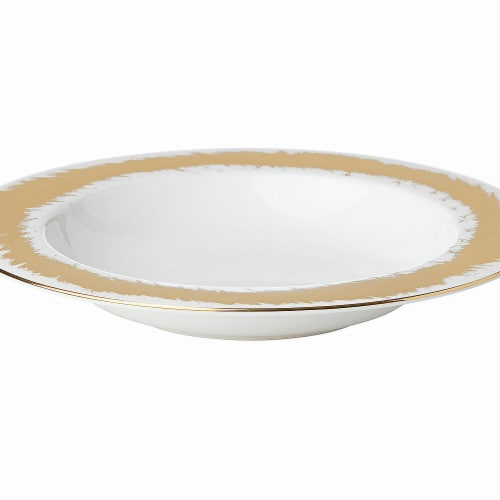 Lenox 869056 Casual Radiance Dinnerware Pasta & Soup Bowl, 12 oz Perspective: front