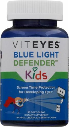 Viteyes Kids Blue Light Defender Soft Chews Perspective: front