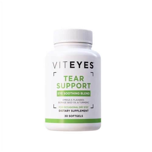 Viteyes Tear Support Softgels Perspective: front