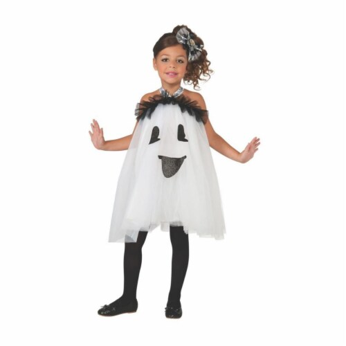 Rubies 404288 Child Ghost Tutu Dress Infant & Toddler Costume for Girls Perspective: front