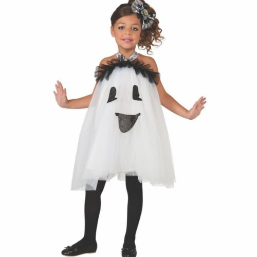 Rubies 404289 Girls Ghost Tutu Dress Child Costume, Small Perspective: front