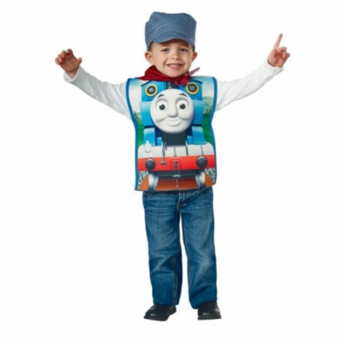 BuySeasons 286635 Thomas the Tank Candy Catcher Child Costume Perspective: front