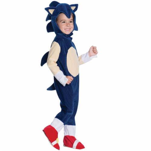 Rubies Costumes 271716 Sonic Toddler Romper Costume Infant Perspective: front