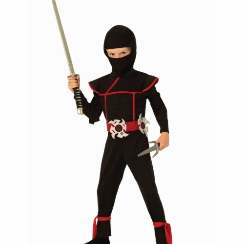 Rubies Costumes 279321 Boys Stealth Ninja Costume - Medium Perspective: front