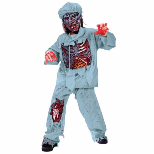 Rubies Costumes 279334 Zombie Doctor Child Costume - Medium Perspective: front