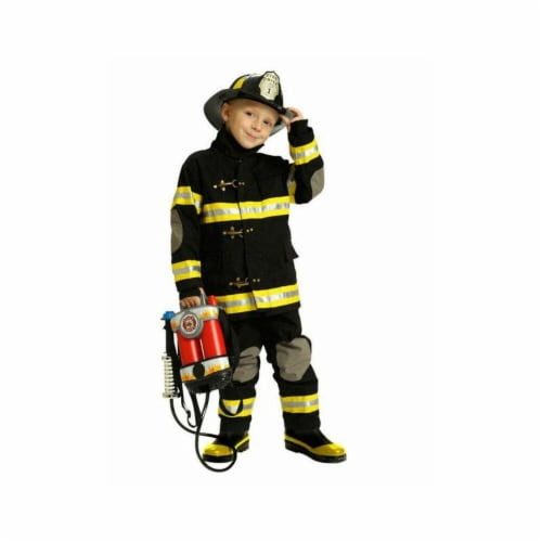 Rubies Costumes 279348 Child Junior Fireman Costume - Extra Small Perspective: front