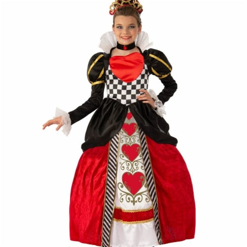 Rubies 279399 Polyester Child Elite Queen of Hearts Costume - Extra Small Perspective: front