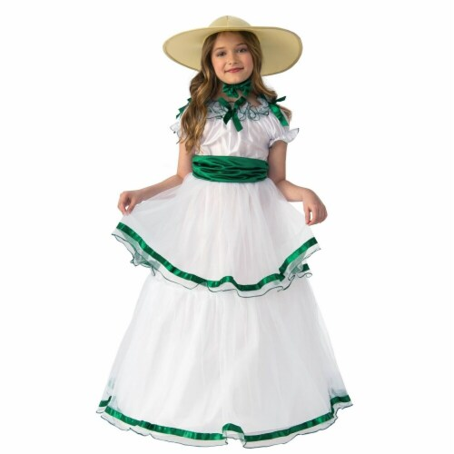 Rubies 279401 Southern Belle Child Costume, Medium Perspective: front