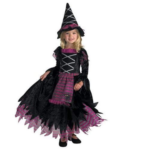 Rubies 279421 Fairytale Witch Child Costume, Small Perspective: front
