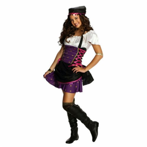 Rubies 279424 Girls Gypsy Costume, Medium Perspective: front