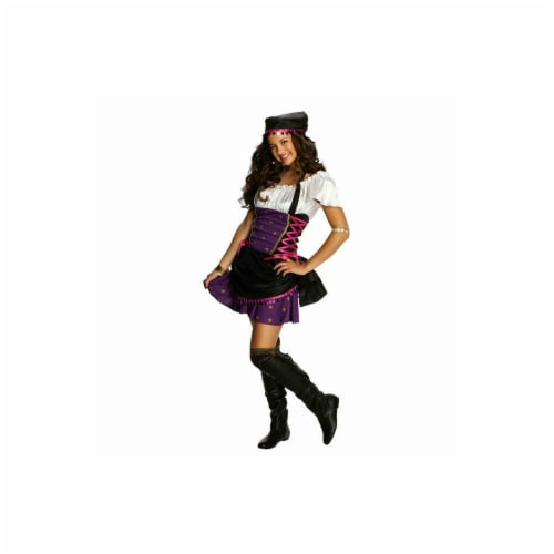 Rubies 279425 Girls Gypsy Costume, Small Perspective: front