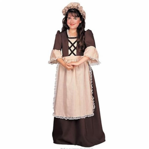 Rubies 279432 Patriotic Colonial Girl Costume, Large Perspective: front