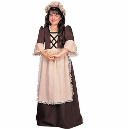Rubies 279433 Patriotic Colonial Girl Costume - Medium Perspective: front