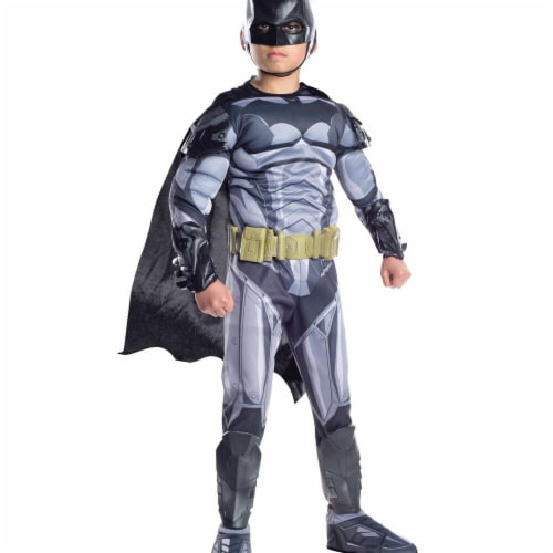 Rubies 272124 Batman Armored Premium Child Costume - Small Perspective: front