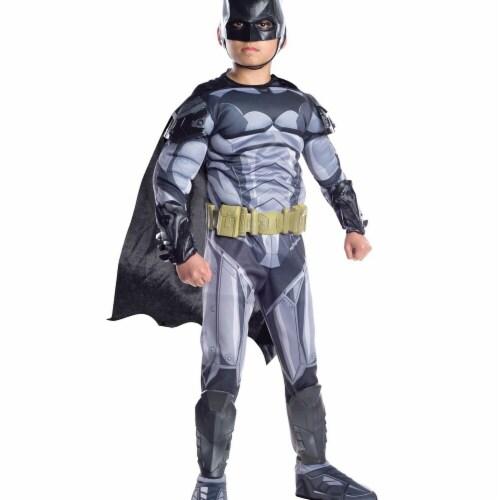 Rubies 272123 Batman Armored Premium Child Costume - Medium Perspective: front