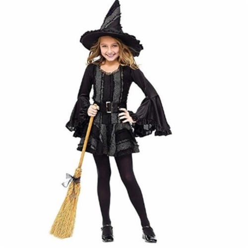 Rubies 279435 Stitch Witch Child Costume, Extra Large Perspective: front