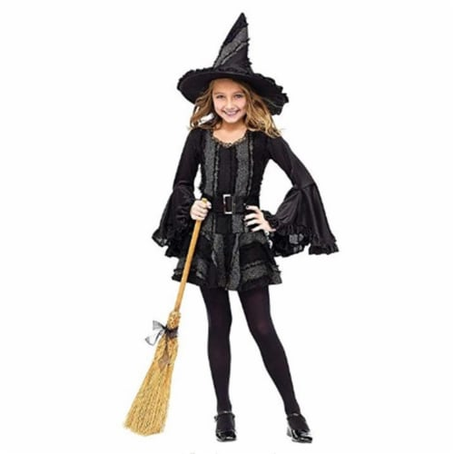 Rubies 279436 Stitch Witch Child Costume - Medium Perspective: front