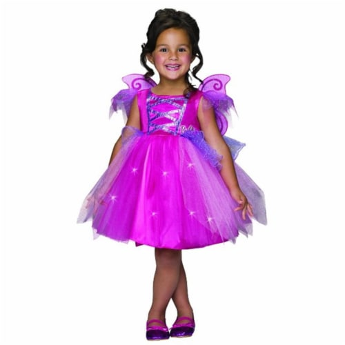 Rubies Costumes 242577 Barbie Fairy Toddler Costume Pink Perspective: front