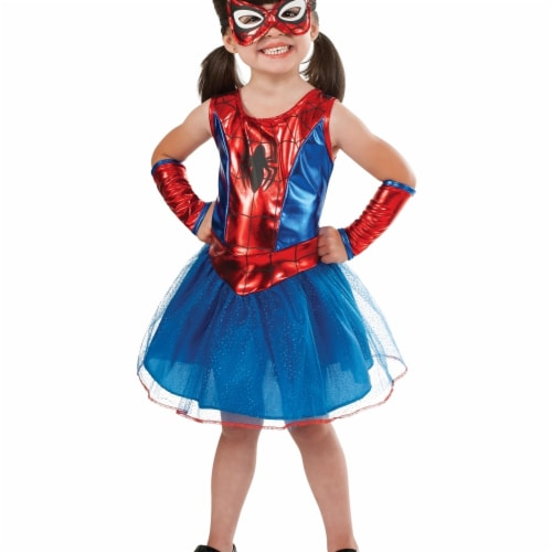 Morris Costumes RU880853T Child Spidergirl Toddler Perspective: front