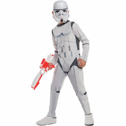 Rubies Costume 271223 Star Wars Stormtrooper Child Costume, Medium Perspective: front