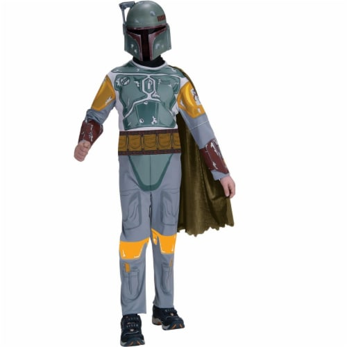 Rubies 271475 Star Wars Boba Fett Child Costume - Small Perspective: front