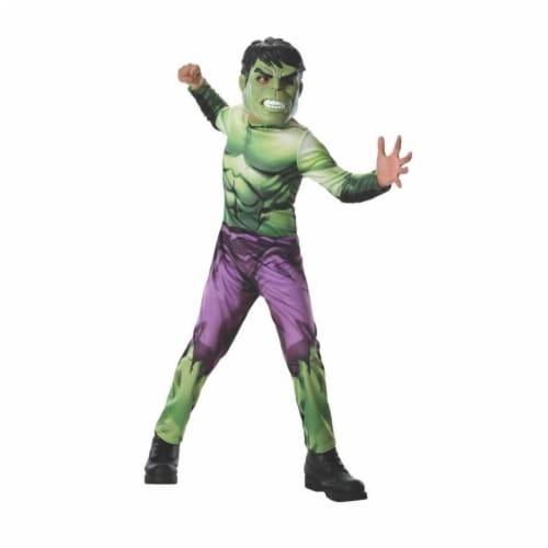 BuySeasons 286747 Kids Hulk Costume, Large Perspective: front