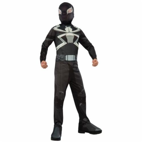 Morris Costumes RU610872SM Agent Venom for Child, Small & Medium Perspective: front