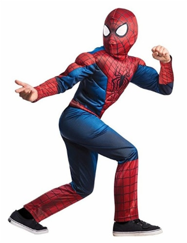 Rubies Marvel The Amazing Spider-Man 2 Muscle Costume (10-12) Perspective: front