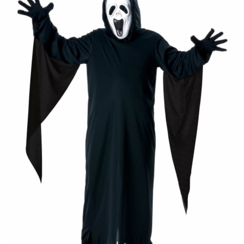 BuySeasons 286757 Kids Screaming Ghost Costume, Medium Perspective: front