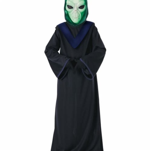 Rubies 406459 Child Glow in the Dark Alien Commander Costume for Boys, Large Perspective: front