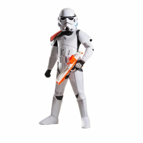 Rubies 284111 Star Wars Boys Stormtrooper Costume, Large Perspective: front