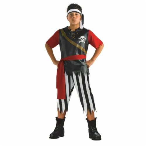 Rubies 283966 Boys Pirate King Costume, Medium Perspective: front