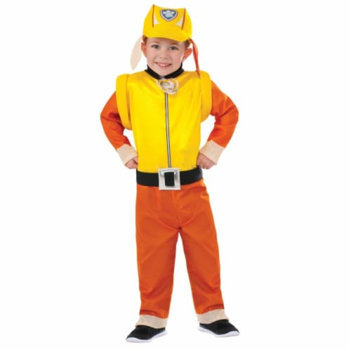 Morris Costume RU620327SM Paw Patrol Rubble Child Costume, Small Perspective: front
