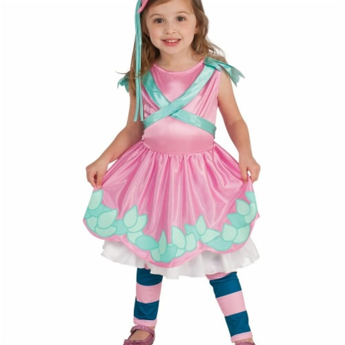 Rubies 247927 Pink Little Charmers Posie Child Costume - Small Perspective: front
