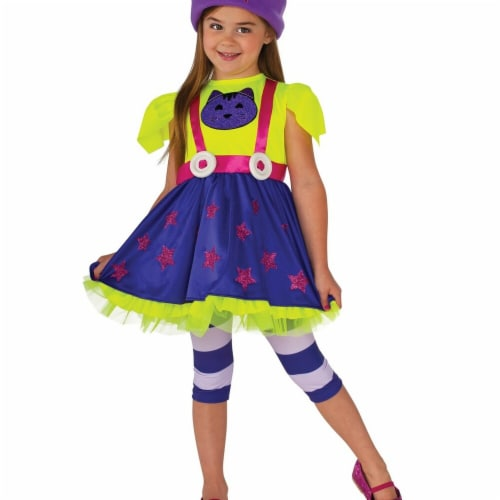 Rubies 247924 Purple Little Charmers Hazel Child Costume, Small Perspective: front