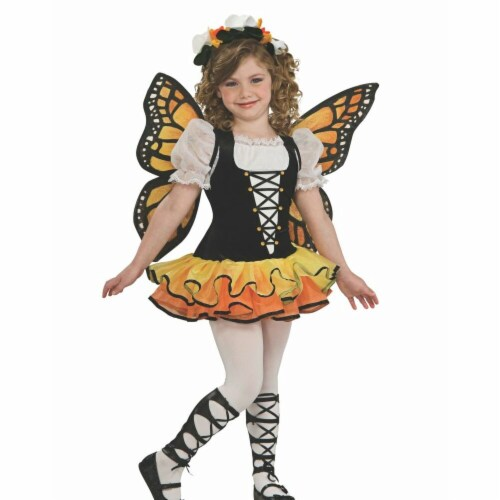 Rubies 279305 Infant & Toddler Beautiful Butterfly Costume, Extra Small Perspective: front