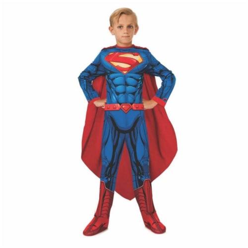 BuySeasons 286760 Photo Real Kids Superman Costume, Medium Perspective: front