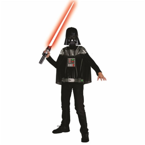 Rubies 281178 Star Wars Darth Vader Child Costume Kit - Large Perspective: front