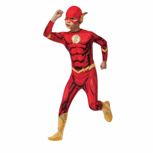 Rubies 279891 Halloween Kids Flash Costume - Large Perspective: front