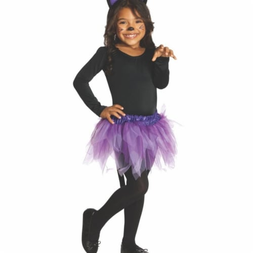 Rubies 406001 Girls Cat Child Costume, Small Perspective: front