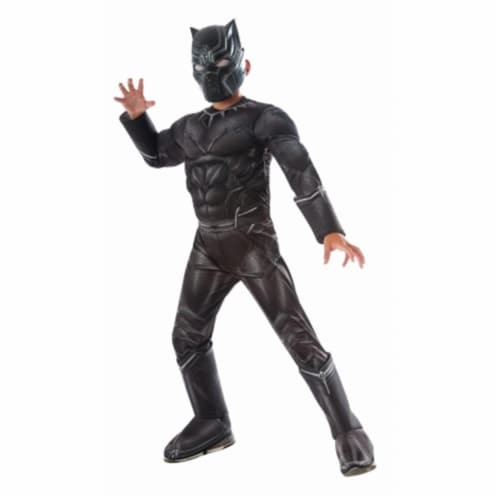 Rubies Costumes 244955 Marvels Captain America - Civil War Kids Panther Deluxe Muscle Chest C Perspective: front