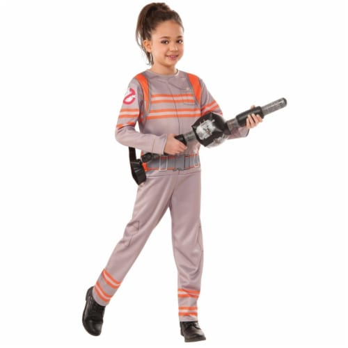 Rubies Costume 273773 Ghostbusters Girls Child Costume, Medium Perspective: front