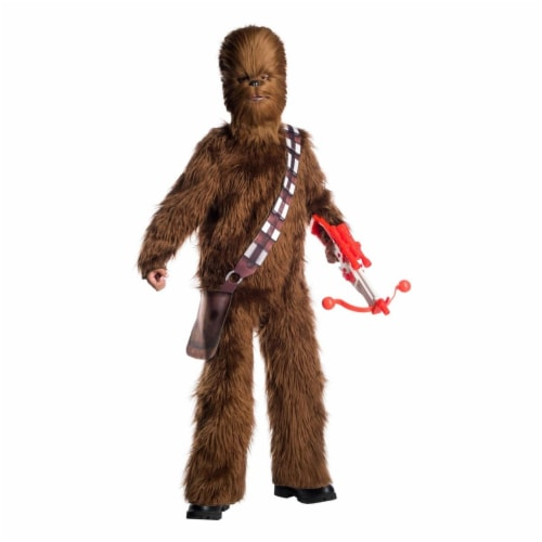 Rubies 404491 Child Star Wars Classic Chewbacca Deluxe Costume for Boys, Large Perspective: front