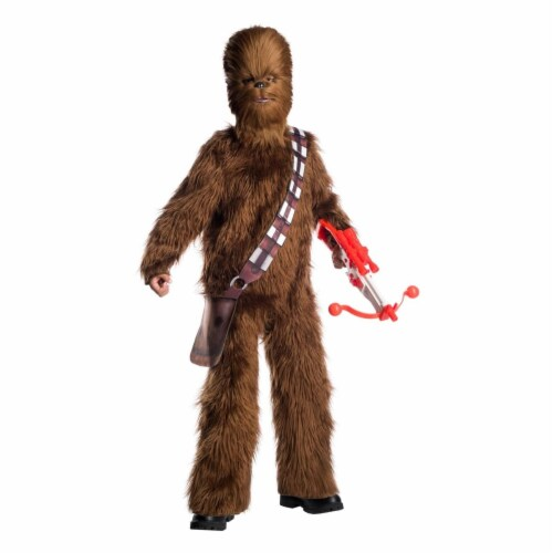 Rubies 404493 Child Star Wars Classic Chewbacca Deluxe Costume for Boys, Small Perspective: front