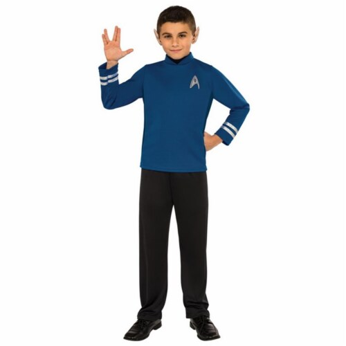 Rubies Costumes 245308 Star Trek Beyond Spock Classic Child Costume, Medium Perspective: front