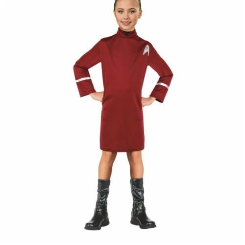 Rubies 284114 Halloween Star Trek Girls Uhura Costume - Small Perspective: front