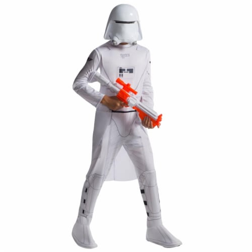 Rubies 284117 Halloween Star Wars Boys Hs Snowtrooper Costume - Large Perspective: front