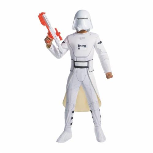 Rubies 284122 Halloween Star Wars Boys Deluxe Snowtrooper Costume - Medium Perspective: front