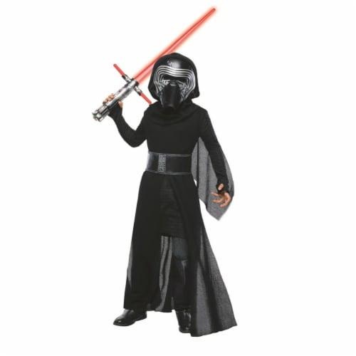 Rubies 284124 Halloween Star Wars Boys Super Deluxe Kylo Ren Costume - Small Perspective: front